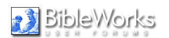 BibleWorks User Forums - Powered by vBulletin